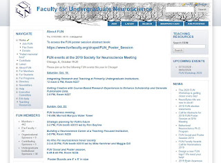 Faculty for Undergraduate Neuroscience web page