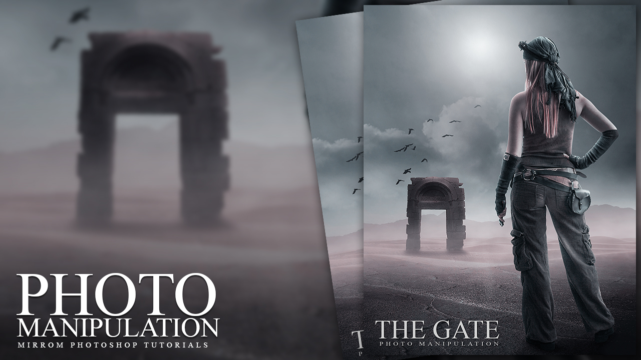 The Gate Photo Manipulation Photoshop Tutorial