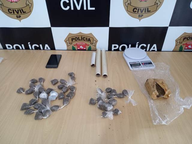 Polícia Civil prende suspeita de tráfico de drogas em Registro-SP