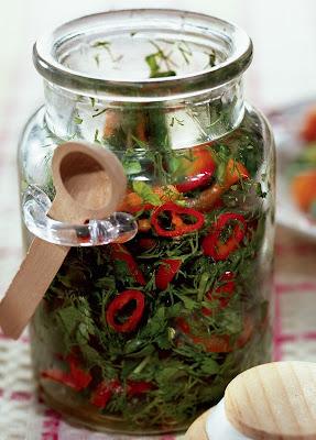 Заготовка на зиму из огородной зелени- перец -рецепт