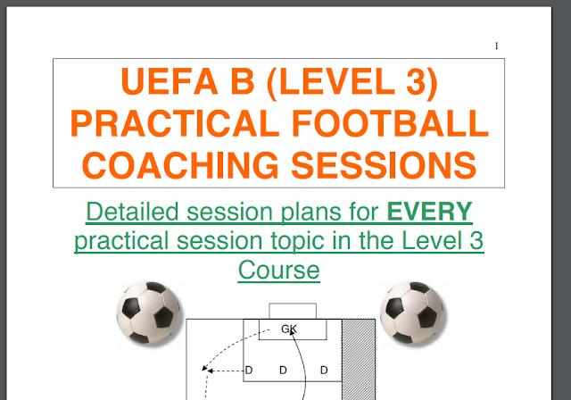 ملخص دورة تدريبية الاتحاد الاوروبي UEFA B (المستوى 3) PDF