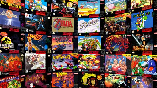Pacote com 123 jogos de Super nintendo traduzidos em Português, para download