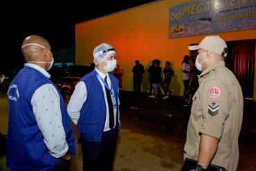 Segundo dia de Operação 3ª Onda reforça combate à pandemia fiscalizando estabelecimentos comerciais em Porto Velho
