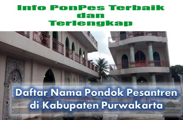 Pesantren di Kabupaten Purwakarta