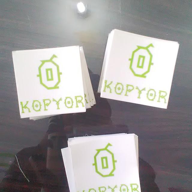 Stiker Kopyor