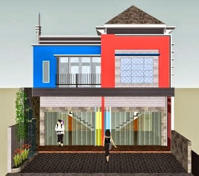 kumpulan desain ruko minimalis 2 lantai - design rumah