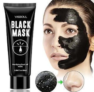 Vassoul Blackhead Remover Black Mask