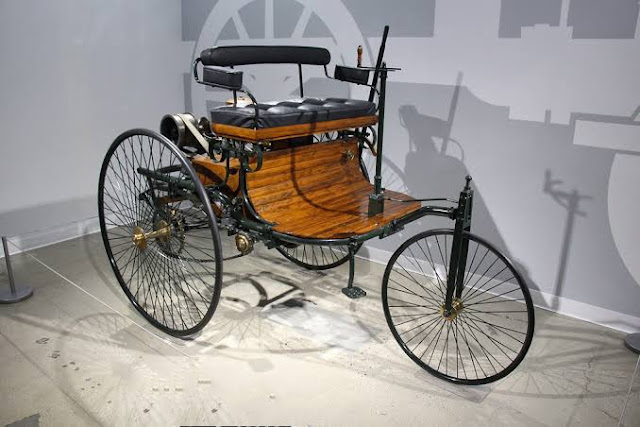 Karl Benz patent motor wagon autocurious
