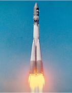 Старт космического корабля «Восток» с Юрием Гагариным на борту фото