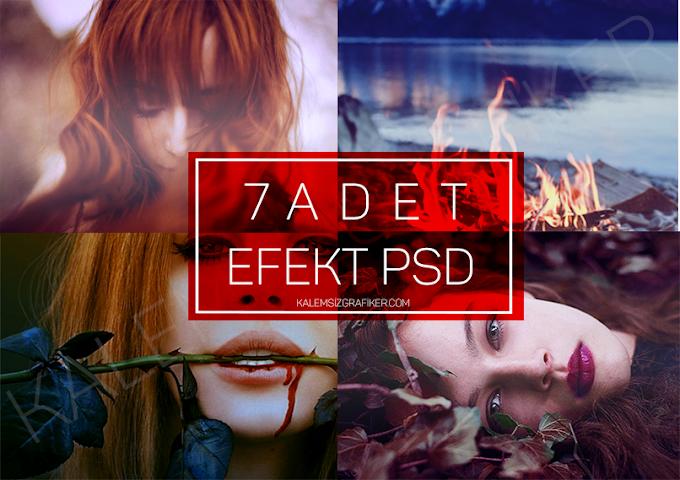 7 Adet Efekt PSD