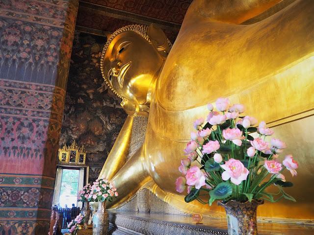 Wat Poh, liegender Buddah