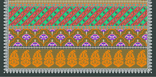 Traditional-illustration-indian-motif-textile-border-210034