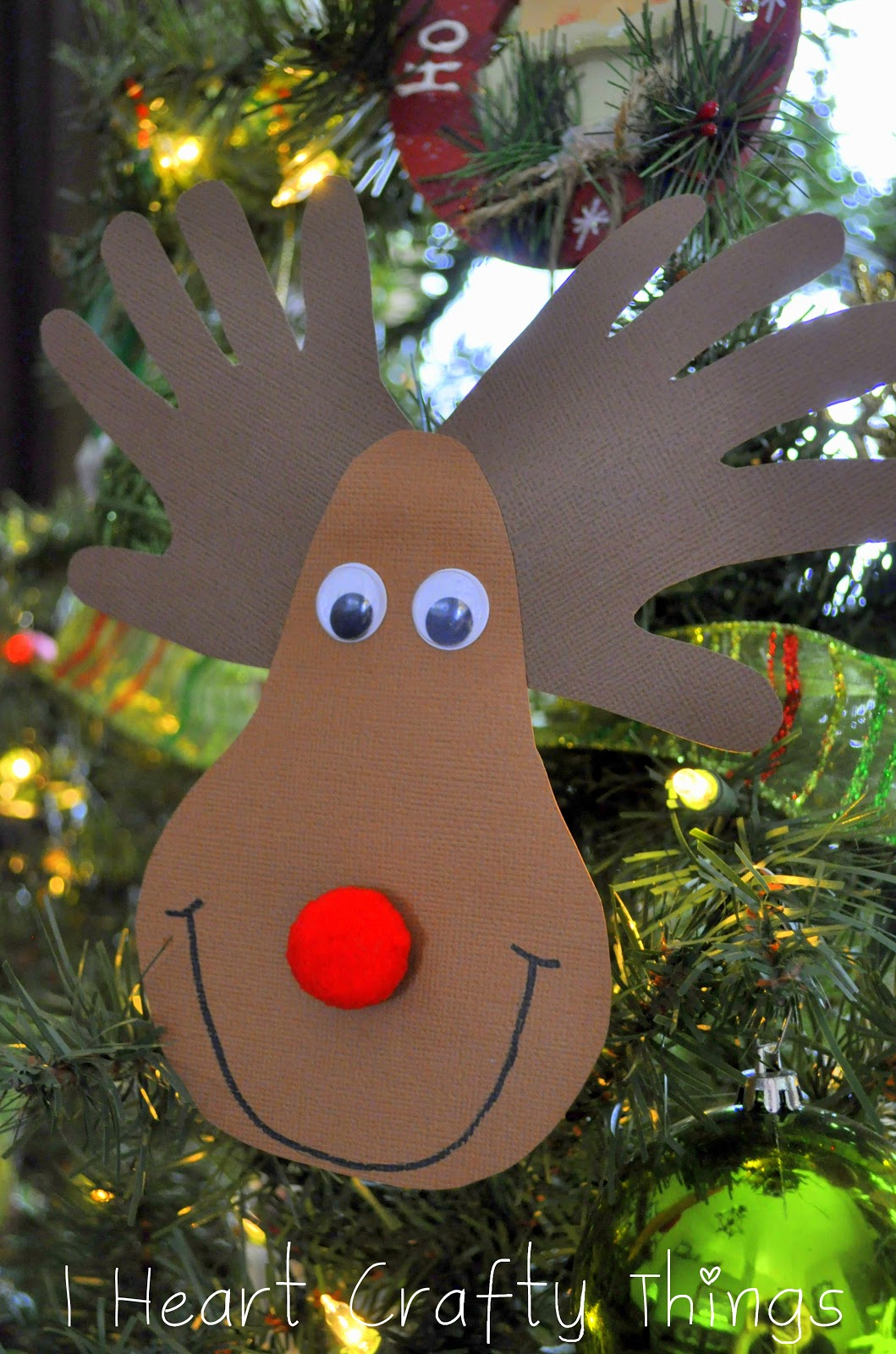 Children Christmas Card Craft Ides