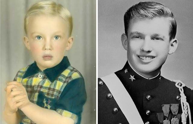 Donald Trump Childhood