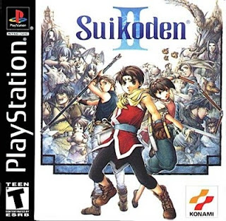 Suikoden II PS1 Game
