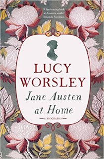 Book Cover: Jane Austen at Home by Lucy Worsley