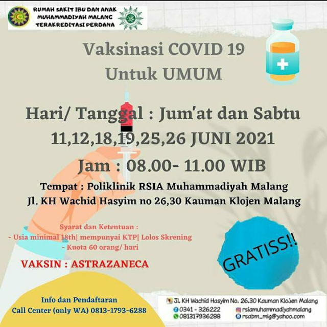 Covid 19 Vaccination Information for the Public