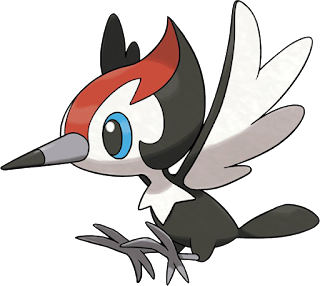 Pikipek - Picapau - Pokémon Sun & Moon