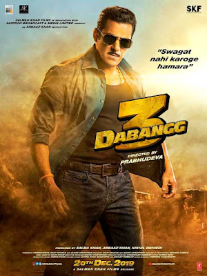Dabangg, Dabangg 2, Both films were super hits. Now Salman is on a hat-trick.