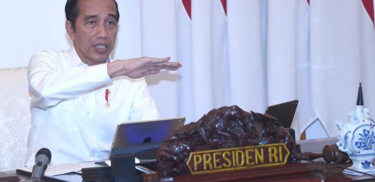 Perintah Jokowi di Tengah Corona, Proyek Strategis Nasional Jalan Terus