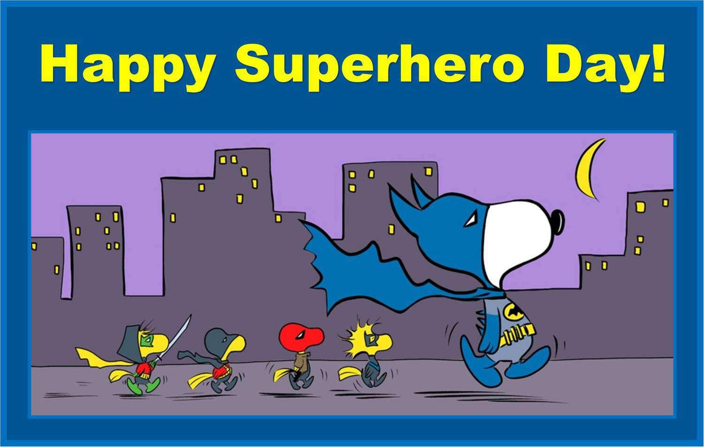 National Superhero Day Wishes Beautiful Image