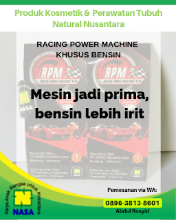 Racing Power Mechine Khusus Bensin 20 Tablet