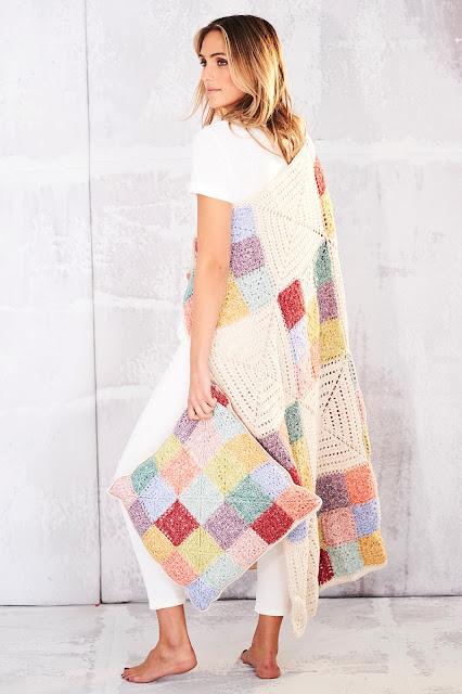 Farmhouse Patch Blanket & Cushion