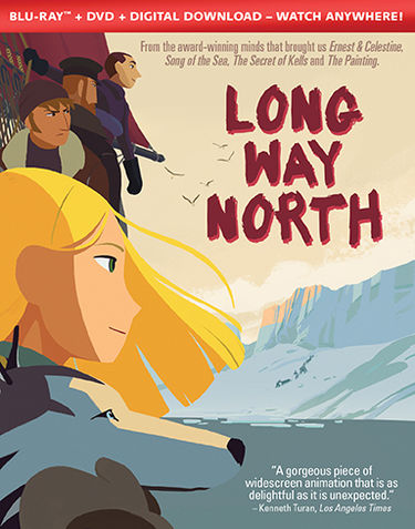 Shout! Factory Animated Movie Adventure Long Way North