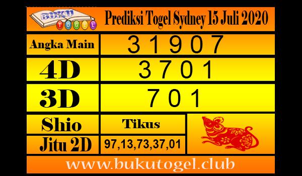 Prediksi Togel Sydney 15 Juli 2020