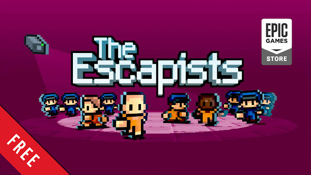 the escapists free pc game epic games store top-down strategy game indie mouldy toof studios team 17