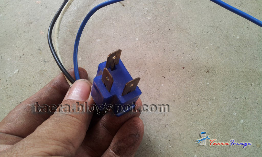 tacra s diy garage headlamp relay kit rh diytacra com Fuel Pump Relay Wiring Diagram wiring relay lampu mobil
