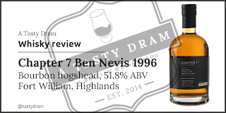 Chapter 7 Ben Nevis single cask whisky 1996