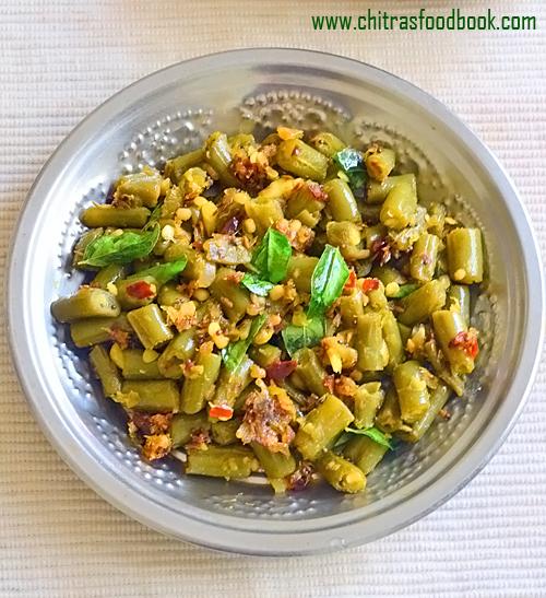 Beans mezhukkupuratti kerala style