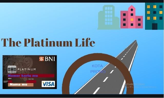 Kartu Kredit BNI Visa Platinum