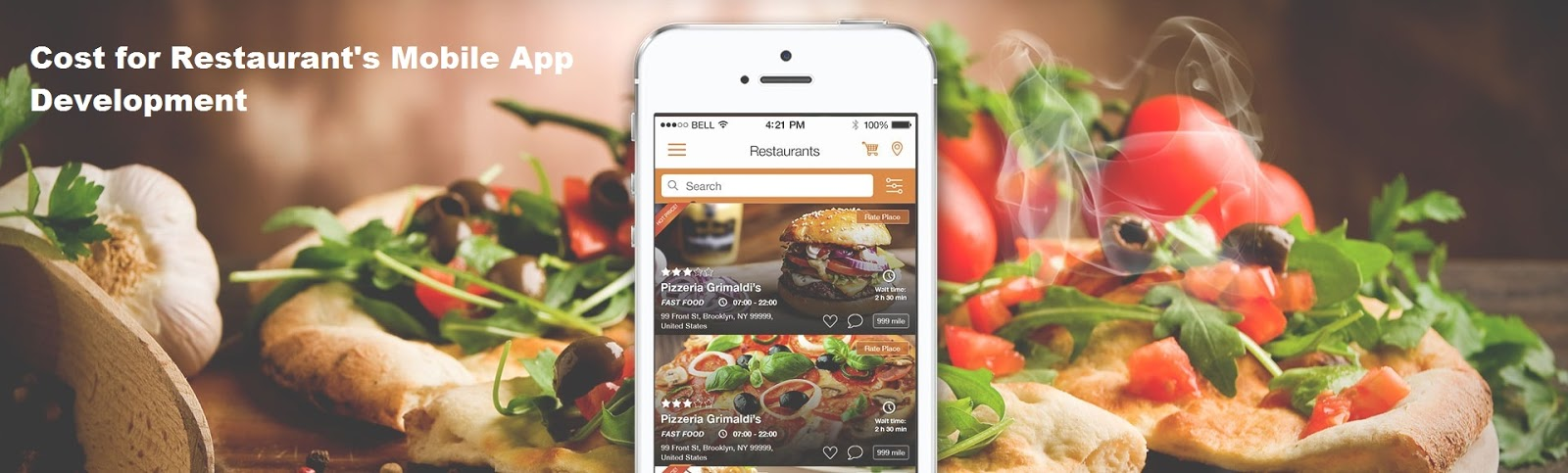 What Is The Cost Estimation For Restaurant S Mobile Development Like Zomato