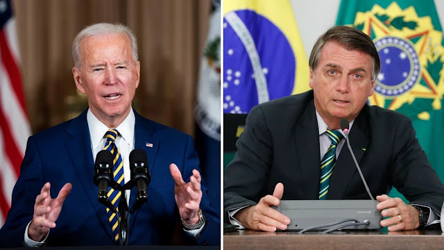 Em carta a Bolsonaro, Biden promete estreitar parceira com Brasil - Adamantina Notìcias
