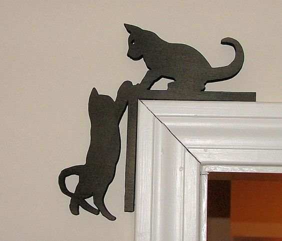 Декор дверных наличников