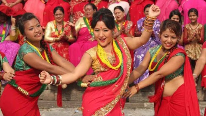 Best wishes Nepali Hindu women for 'Teej'