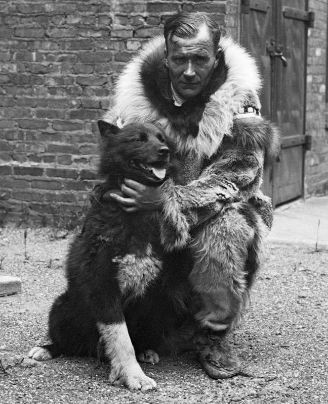 Gunnar Kaasen and balto