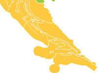 Narančasti stupanj upozorenja slike otok Brač Online