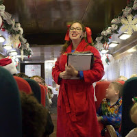 The Polar Express Train Ride Blackstone Valley RI New England Fall Events Storyteller I Love Olive Photography