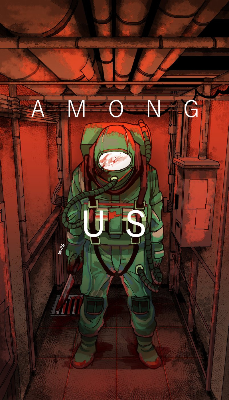 among us wallpaper innersloth
