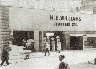 H E Williams (Exeter) Ltd 1960's photo