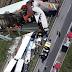 Meriç otoyolunda kaza:22 TIR birbirine girdi,ölü ve yaralı var