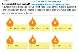 LENGKAP !!! Kunci Jawaban Halaman 52 Matematika Kelas 5 Kurikulum 2013