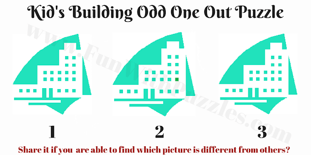 Can you find different Building Picture puzzle?