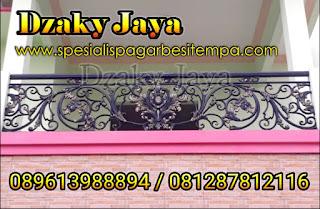 model balkon besi tempa, balkon klasik, railing balkon tempa klasik (4)