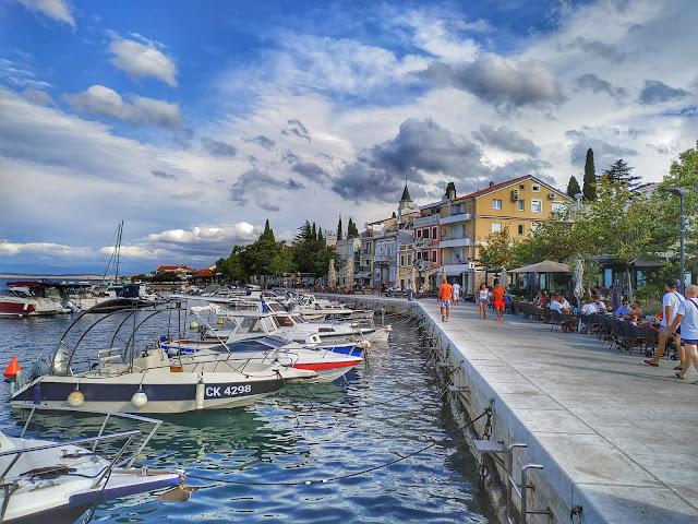 port Selce, malutka miejscowość w okolicy Crikvenica, wakacje w Chorwacji