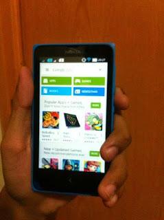 Akses Google Play di Nokia X