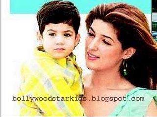 Image result for twinkile khanna kids childhood